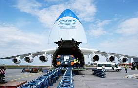 volúmenes de carga aérea