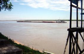 línea fluvial
