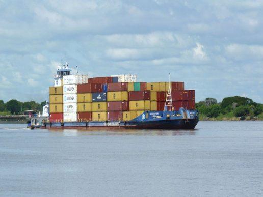 Paraguay estima 200.000 Teus transportados este año