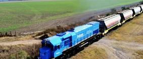 El transporte de carga en la estatización de los ferrocarriles