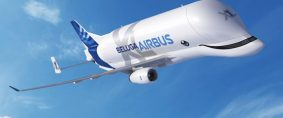 BelugaXL: El primero salió de la fábrica en Toulouse