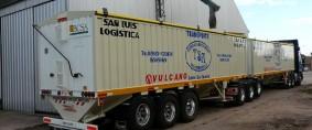Se autorizó la circulación de camiones Bitrenes