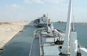 Bloqueo del Canal Suez