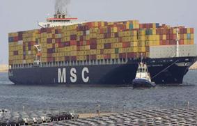 88eee0619 ... la segunda línea de transporte de contenedores del mundo, está en  conversaciones para adquirir una participación en la naviera italiana  Messina, ...