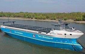 El primer buque totalmente autónomo