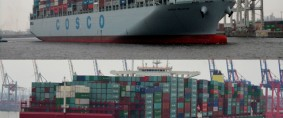 Cosco y China Shipping en charlas de fusión
