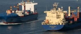 CSAV bautizó sus mayores buques portacontenedores
