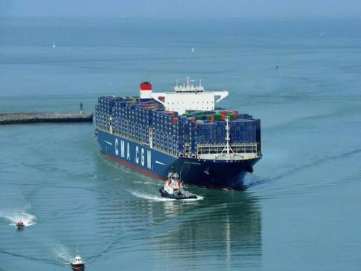 CMA CGM pionera en GNL para los mega buques