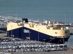 terminales portuarias de vehículos