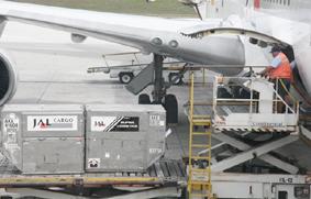 Demanda de carga aérea mundial