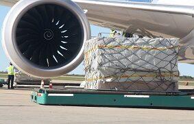 la carga aérea