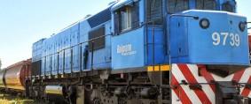 Arribó material ferroviario al puerto de Barranqueras