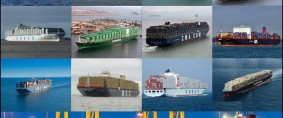 Las 20 principales marítimas de contenedores