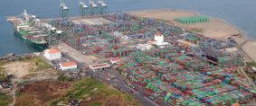 Los puertos latinoamericanos movieron más de 50 millones de Teus en 2017