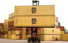 depósitos de contenedores