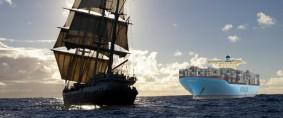 Relato de un viaje por mar: Marineros antiguos y modernos