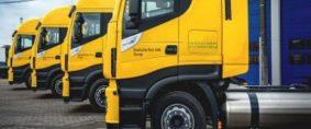 Camiones a GNL de larga distancia para DHL
