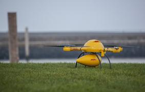 Drone DHL en tierra1