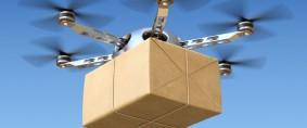Drones para pequeñas cargas en África