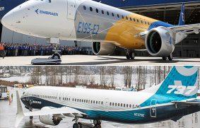 Embraer y Boeing exploran posibilidades de fusión