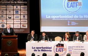 Se inauguró el Encuentro Argentino de Transporte Fluvial