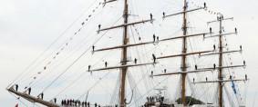 Una bienvenida en Mar del Plata