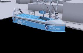 El primer buque portacontenedores autónomo del mundo