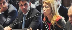 Giorgi y Ramos presentaron un plan para la red ferroviaria