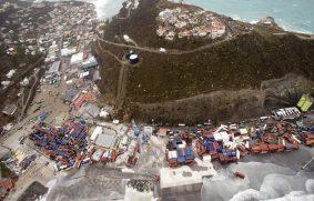 Huracán Irma. Saint Marteen, Antigua y Barbuda arrasadas