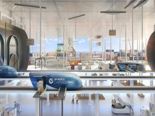 Cargospeed. Innovación de DP World y Virgin Hyperloop