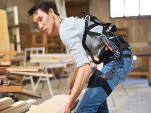 Exoesqueletos para empleados logísticos