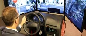Simuladores de conducción de vehículos pesados en FADEEAC