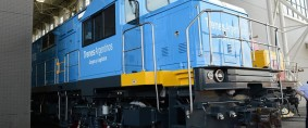 Primera de las locomotoras de carga para la Argentina