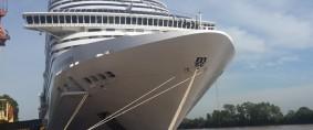 Arribó al Puerto Buenos Aires el MSC Splendida