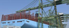 Maersk desplegó su primer Triple-E de segunda generación
