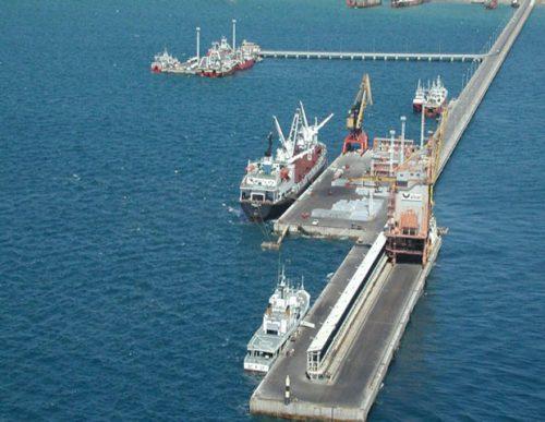 Inician obras en el Muelle Almirante Storni de Madryn