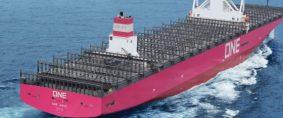 ONE RUSS, nuevo buque de ONE