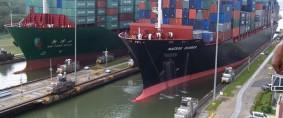 Tonelaje en Canal de Panamá con nuevo récord anual