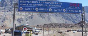 Operativo en los pasos hacia Chile por la visita papal