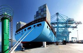 el atraque de buques