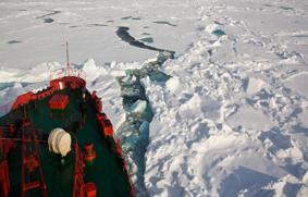 ruta a través del Ártico