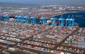 puertos de contenedores