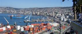 El comercio exterior cae hasta 40% en puertos chilenos