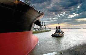 el transporte marítimo