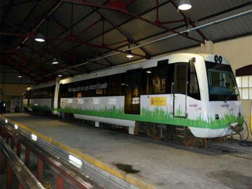 Tren propulsado con GNL será probado por Renfe
