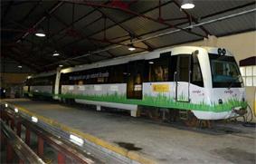 tren propulsado con GNL