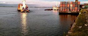 Puerto de Corrientes, DB Schenker: aumento en los volúmenes de carga