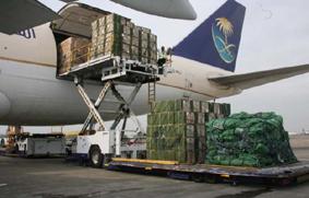 la demanda de carga aérea
