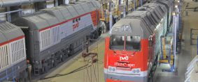 Experiencia ferroviaria rusa, al servicio de Argentina