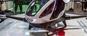 El primer taxi drone se probará en EE.UU.